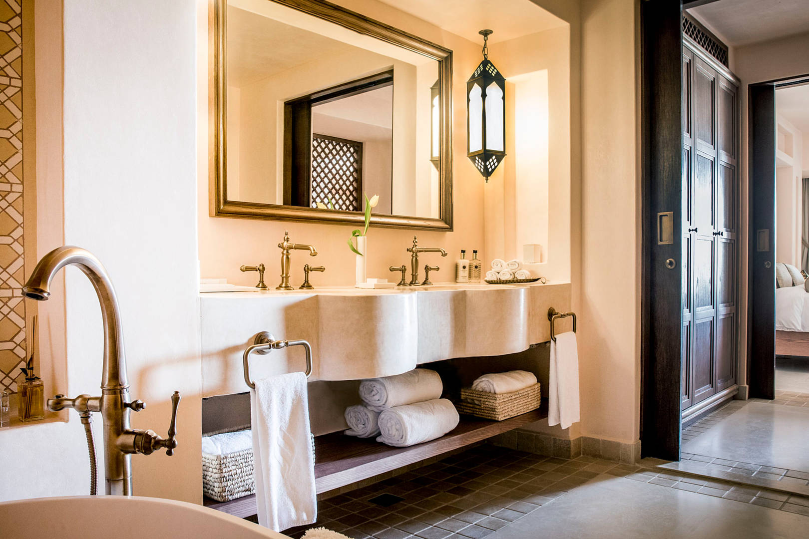 View of the Two Bedroom Suite Bathroom