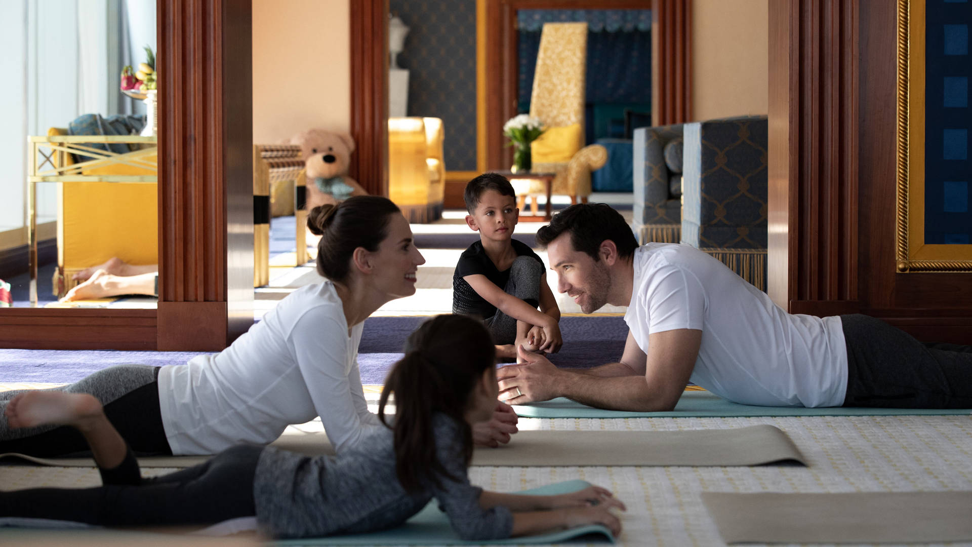 Jumeirah Burj Al Arab Three family yoga