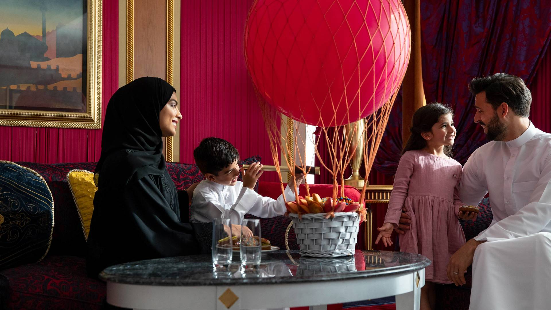 Jumeirah Burj Al Arab Two bedroom family suite Saudi Family_16-9
