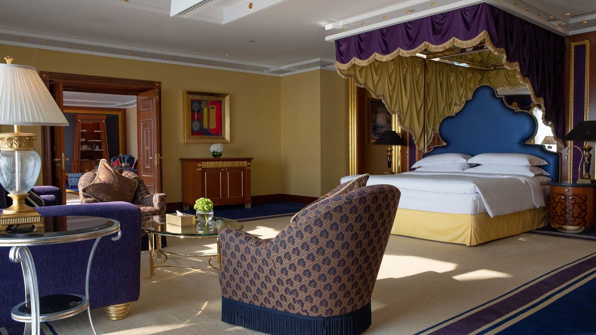 Jumeirah Burj presidential suite Al Arab Master bedroom 2_16-9