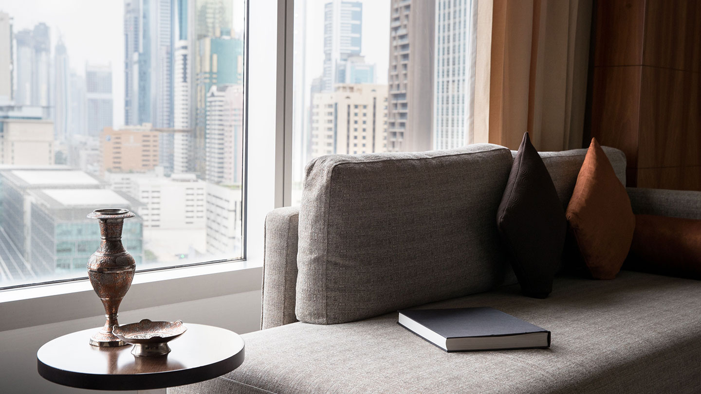Jumeirah Emirates Towers Deluxe Room View