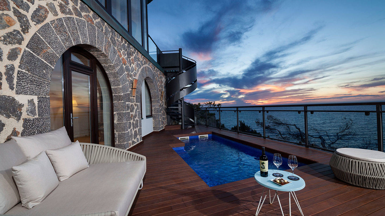 Jumeirah Port Soller Mar Blau Suite Outdoor Space and Balcony