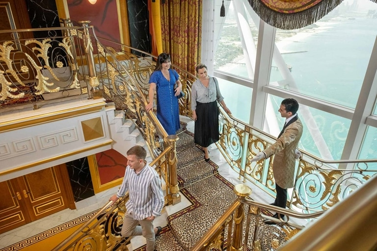 Inside Burj Al Arab Royal Tour