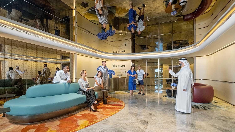 Inside Burj Al Arab Welcome Lounge