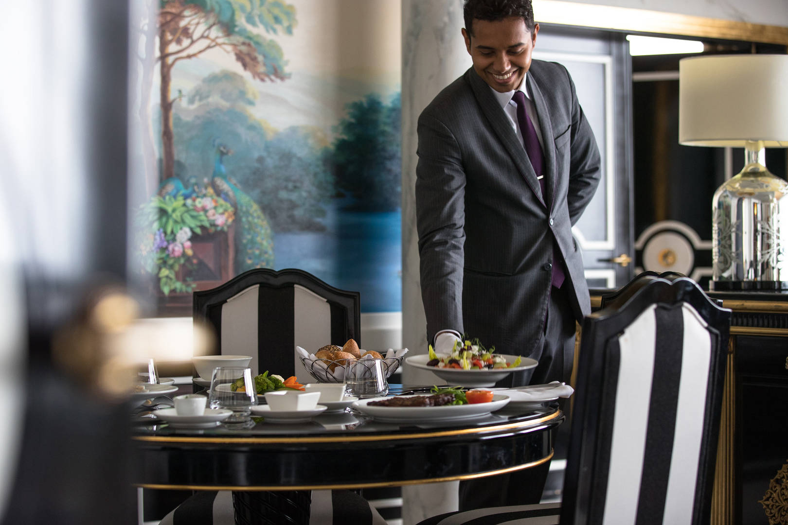 Butler at Jumeirah Emirates Towers