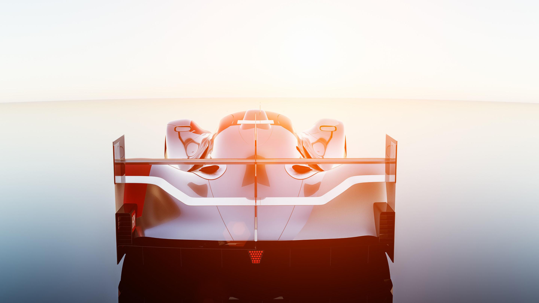 Supercar Lemans prototype