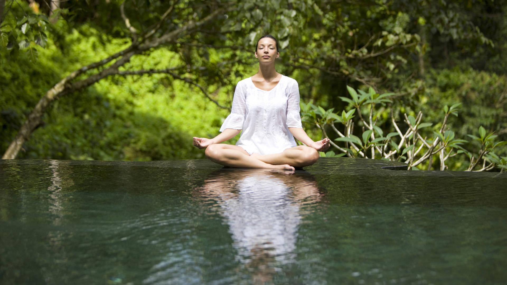 lady yoga zen