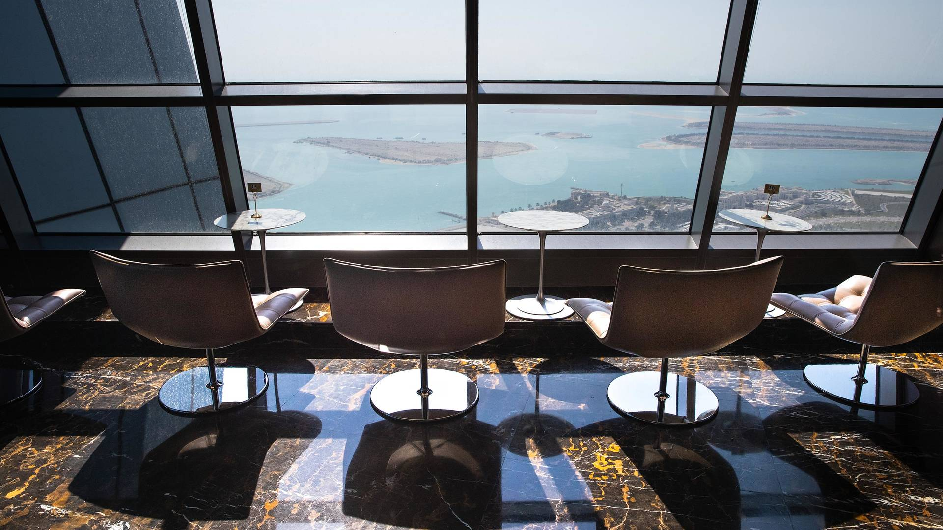 Observation deck at Jumeirah Etihad Towers