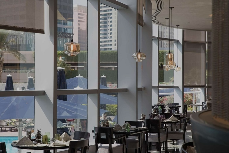 Jumeirah Emirates Towers Mundo Restaurant interior