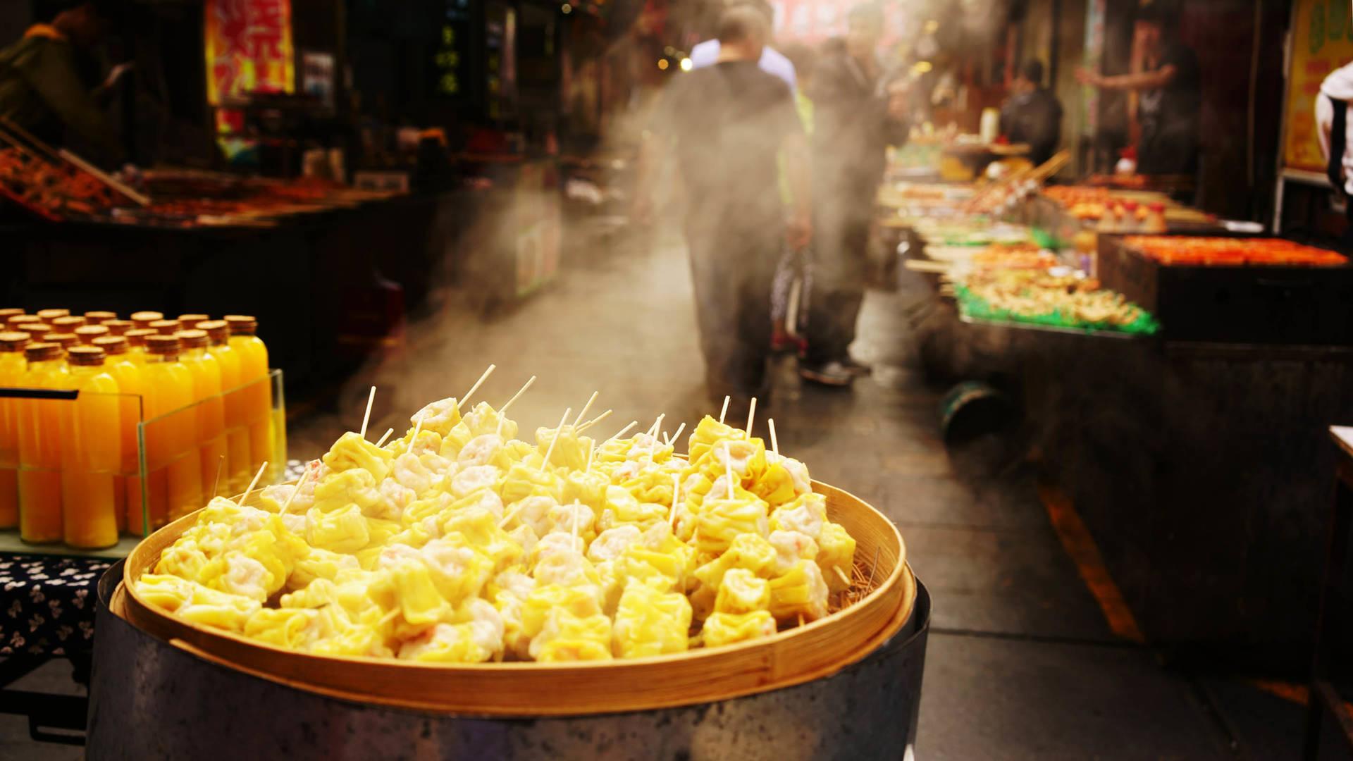 street market shanghai cuisine