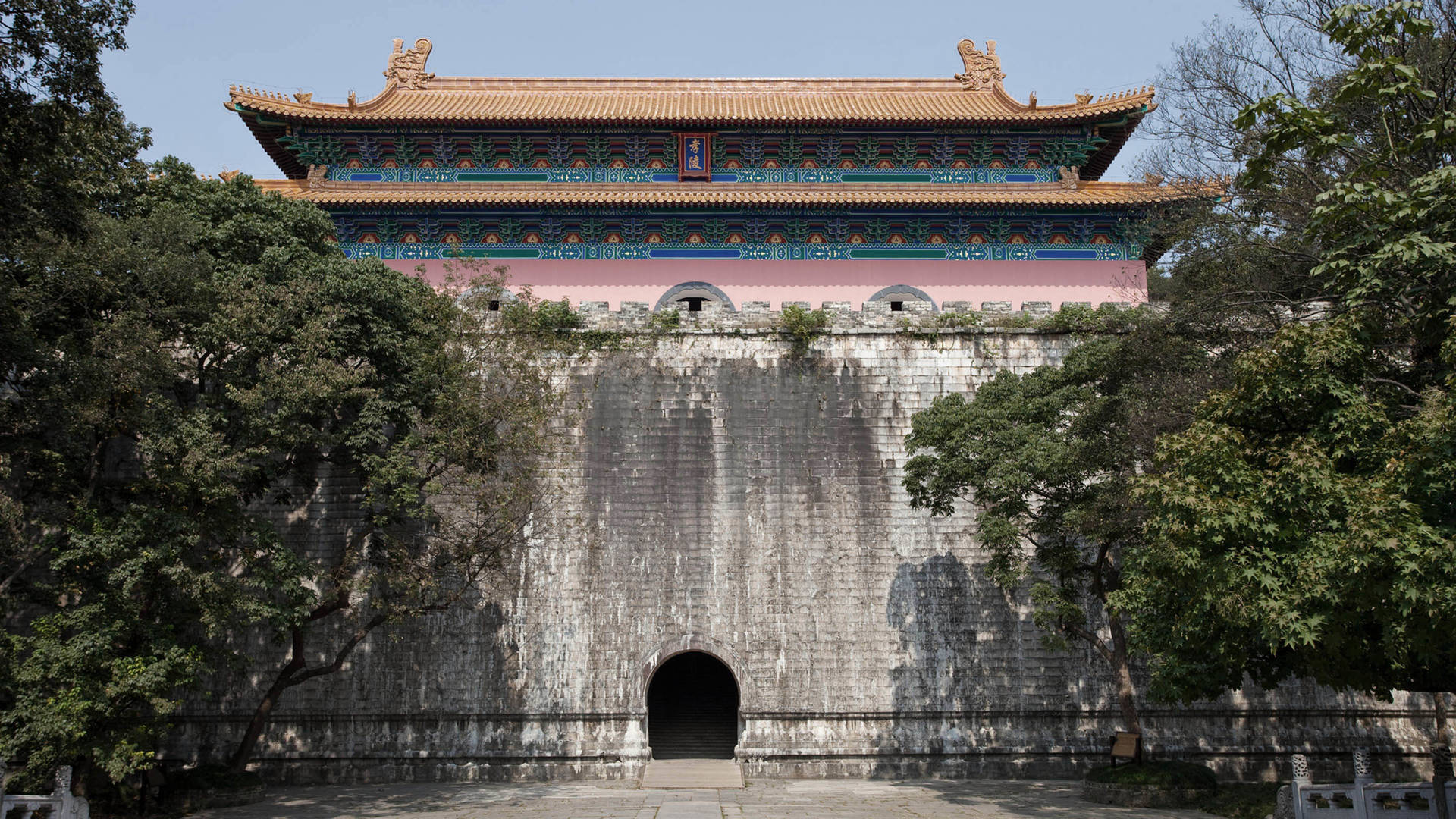 mausoleum historical nanjing