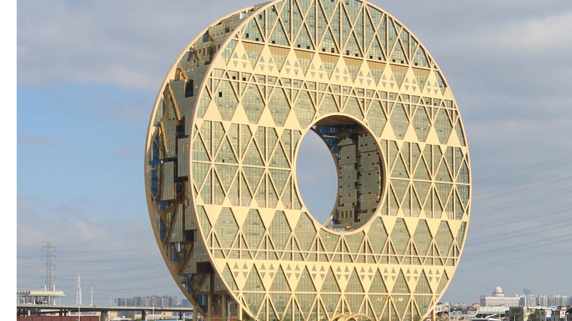 гуанчжоу-юань — здания гуанчжоу