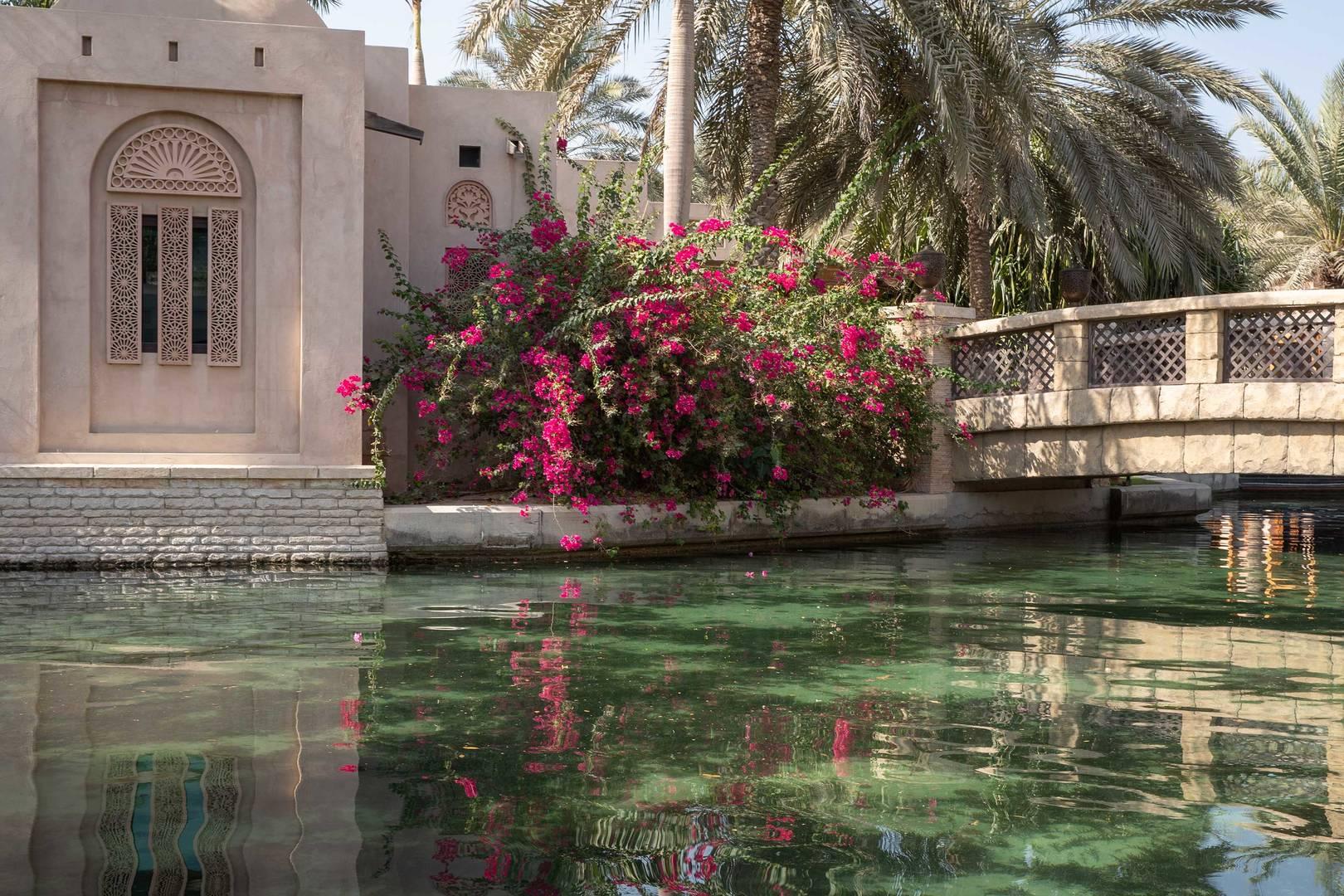 الممر المائي في فندق جميرا دار المصيف