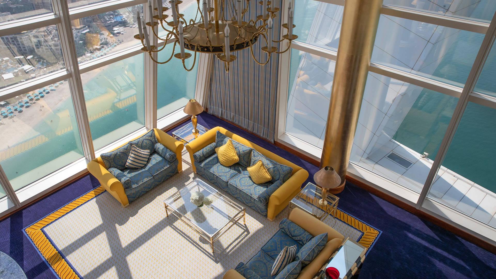 Burj Al Arab Club Suite Living Room