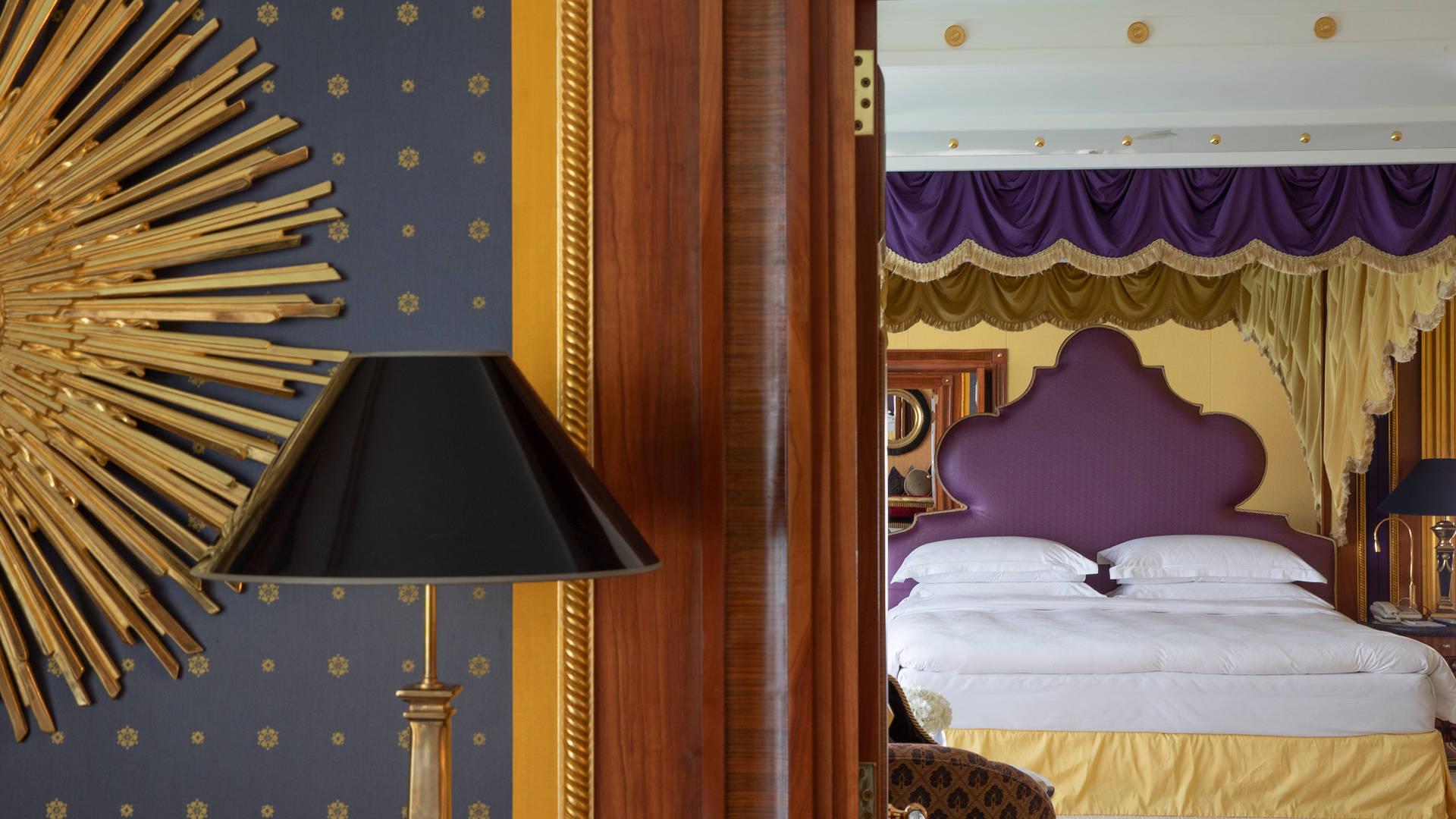 帆船酒店卧室