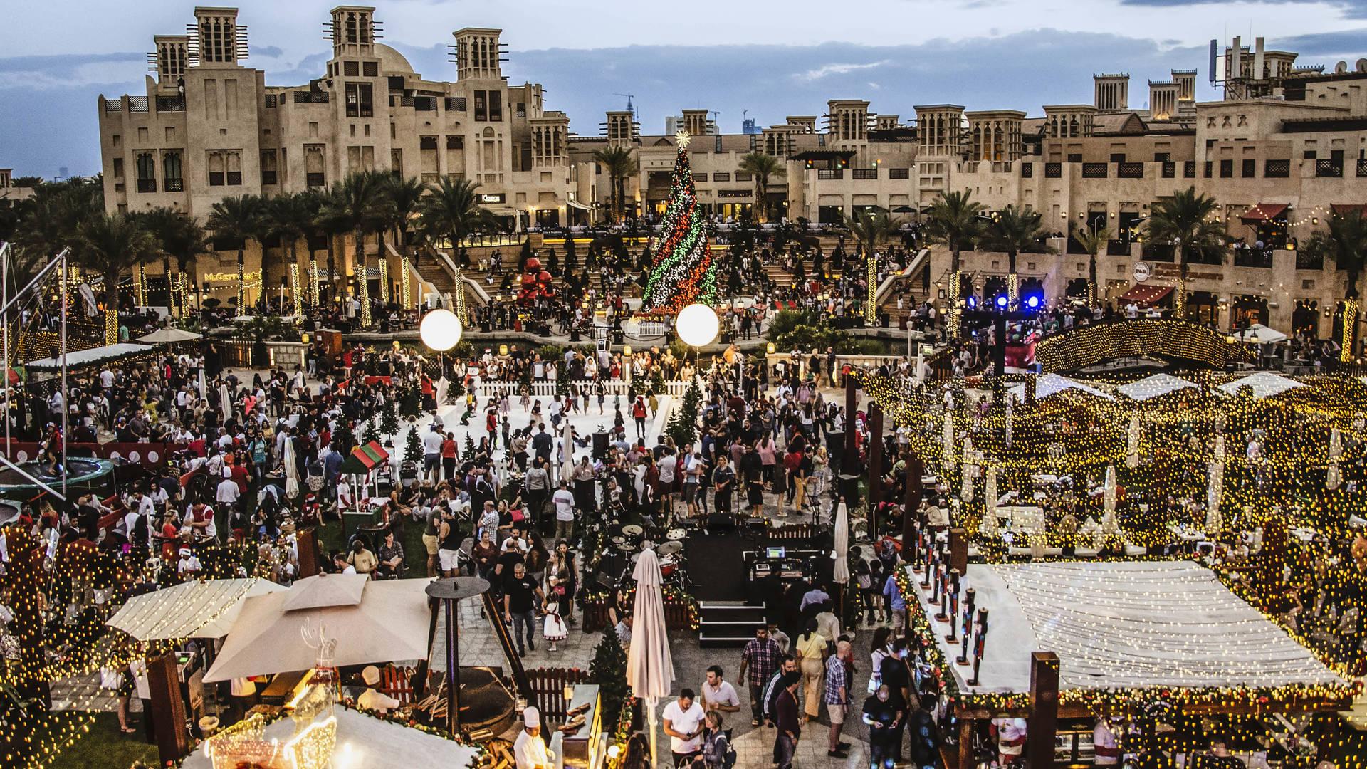 Madinat Jumeirah Bavarian festive market