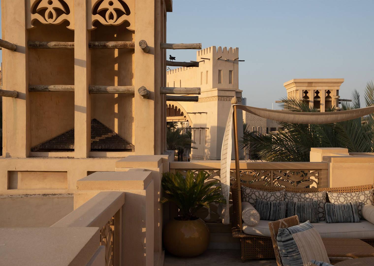 Dar Al Masyaf terrace