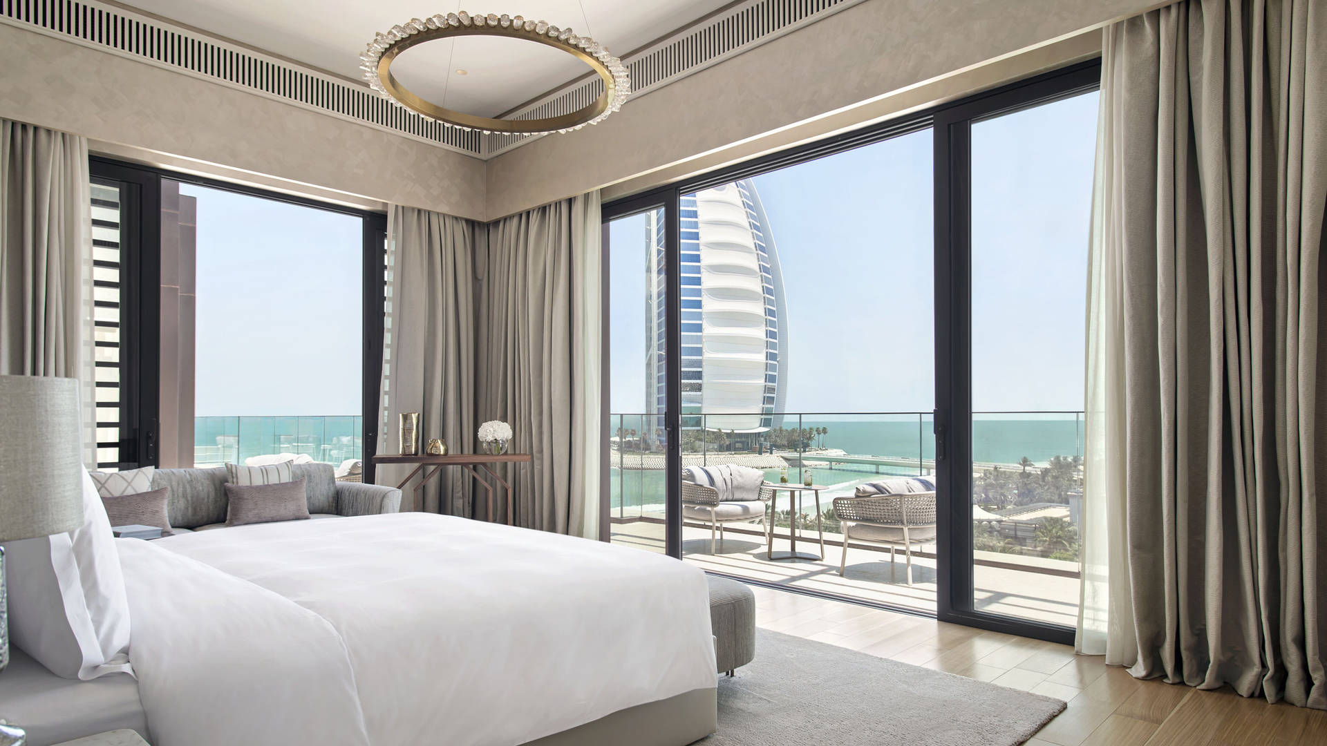 Jumeirah Al Naseem Royal Penthouse Bedroom Dubai
