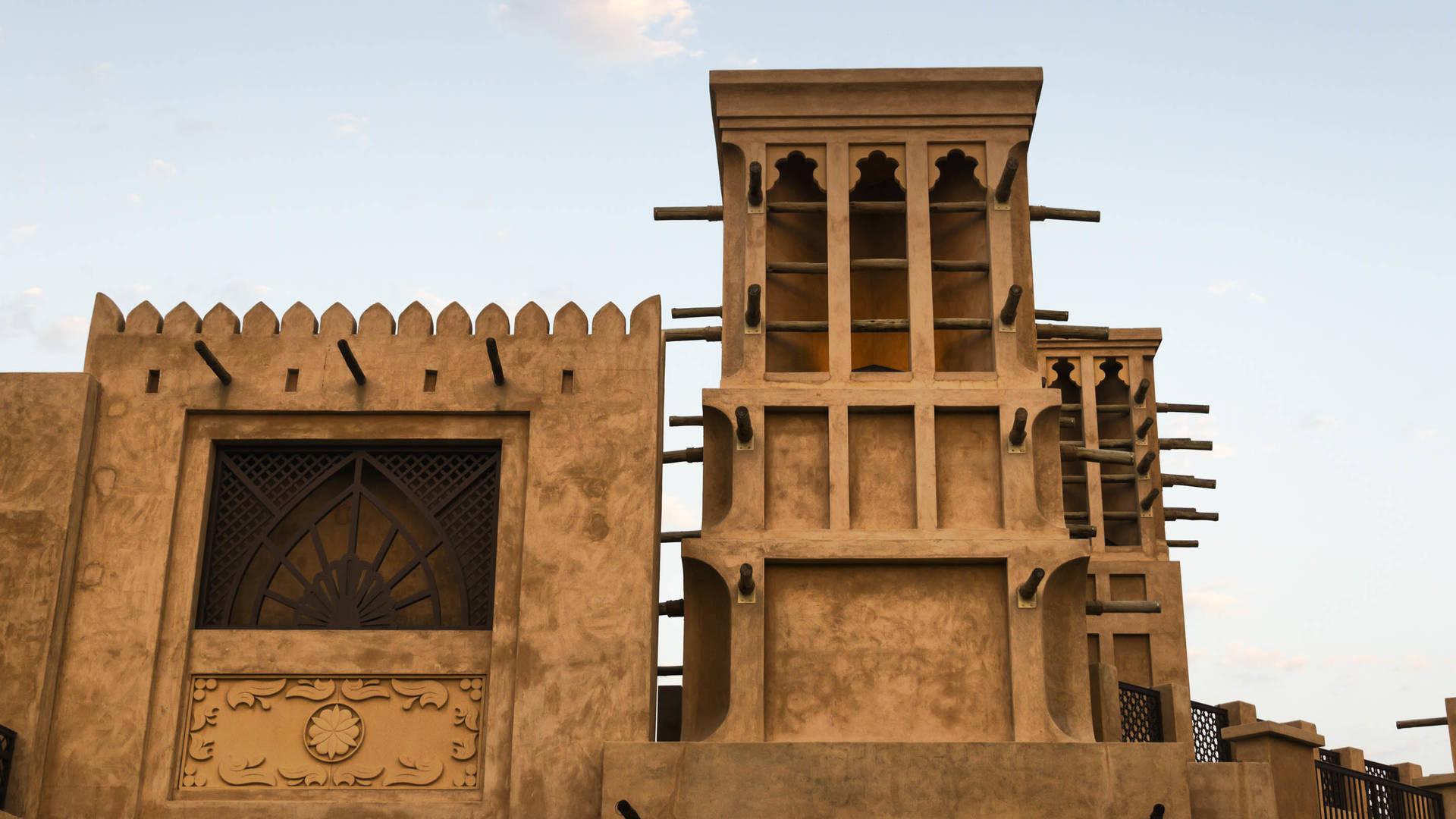 Souk Madinat Jumeirah old architecture istock Dubai