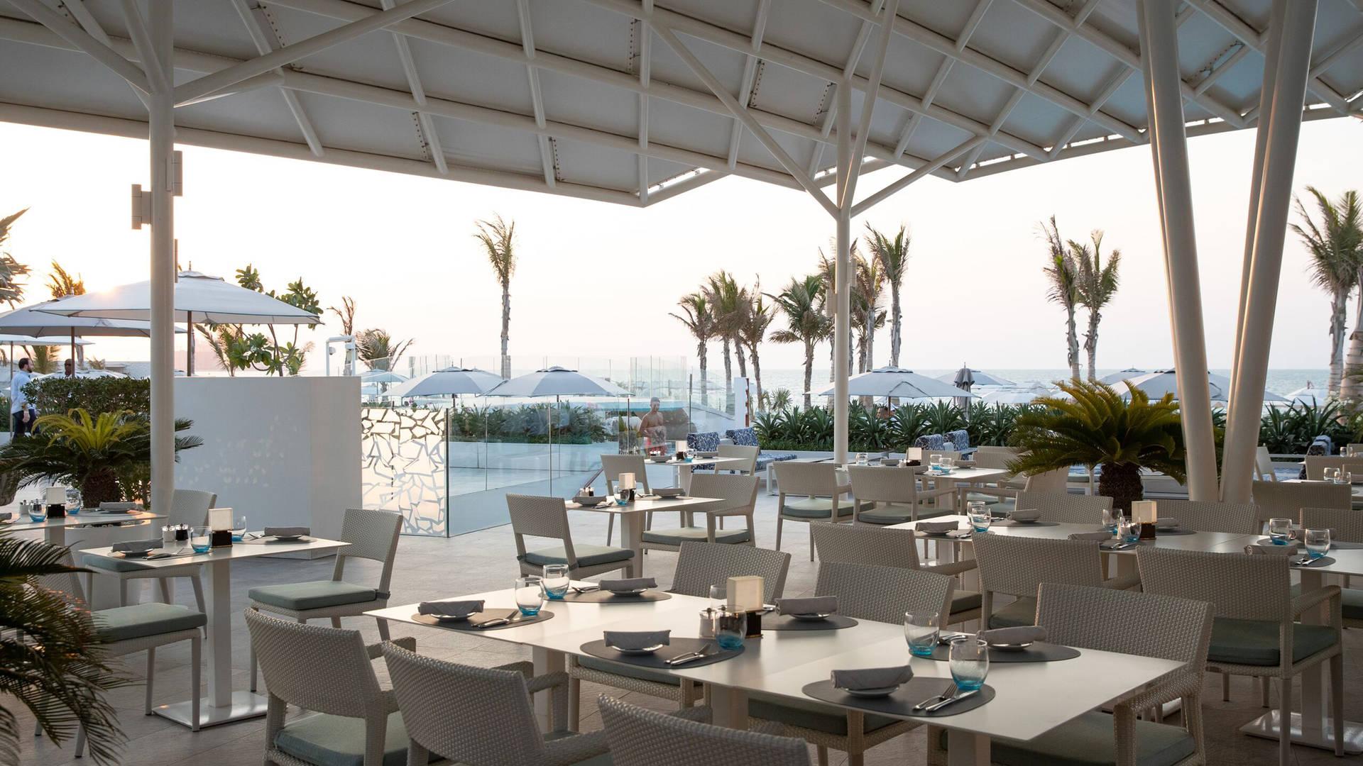 迪拜餐厅帆船酒店 Scape 露台