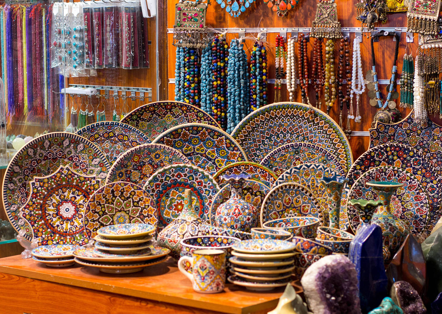 Souvenirs at global village
