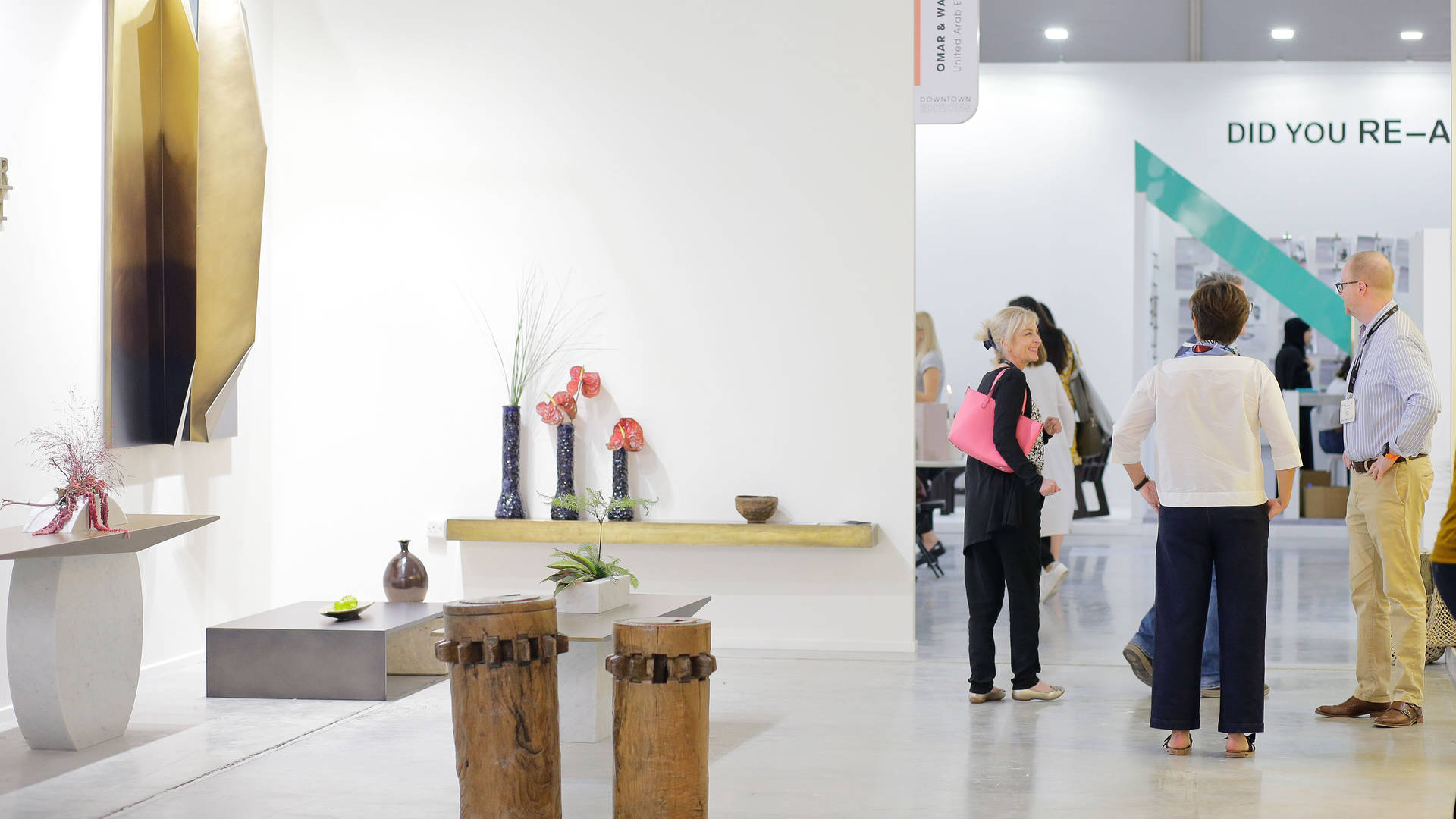 visitors dubai design week