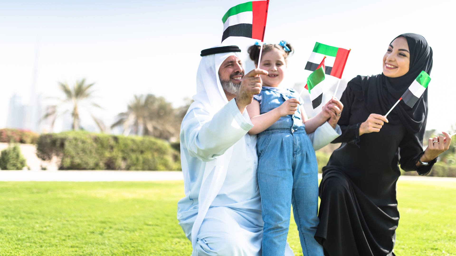 happy family uae national day