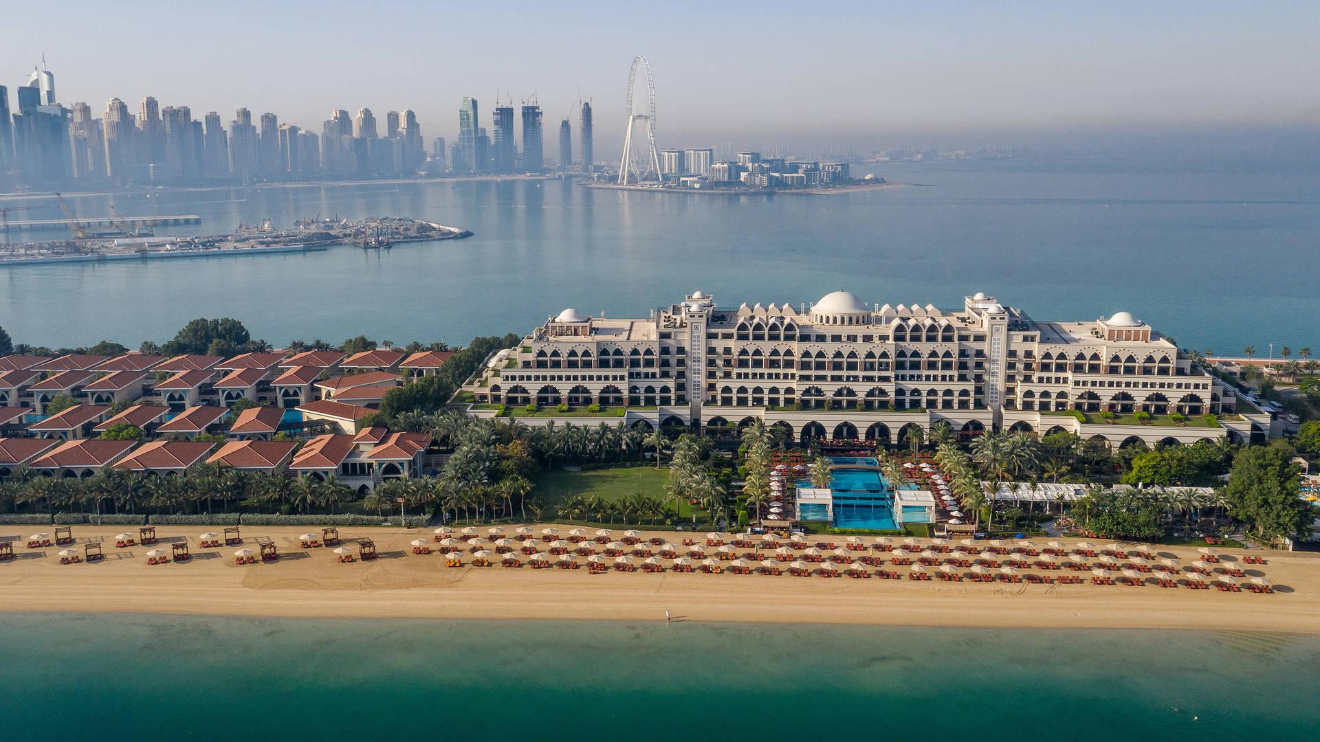 Beach view of Jumeirah Zabeel Saray in Dubai