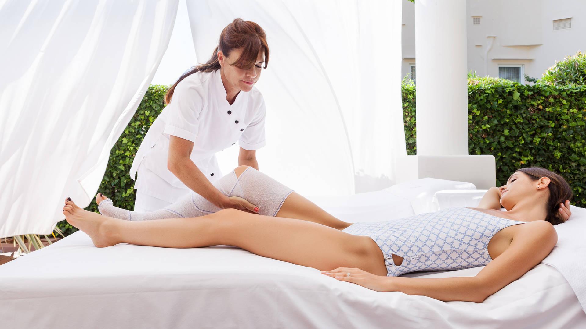 Capri Beauty Farm Leg School Massage