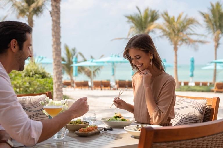 Jumeirah Al Naseem Fusion cuisine mezze