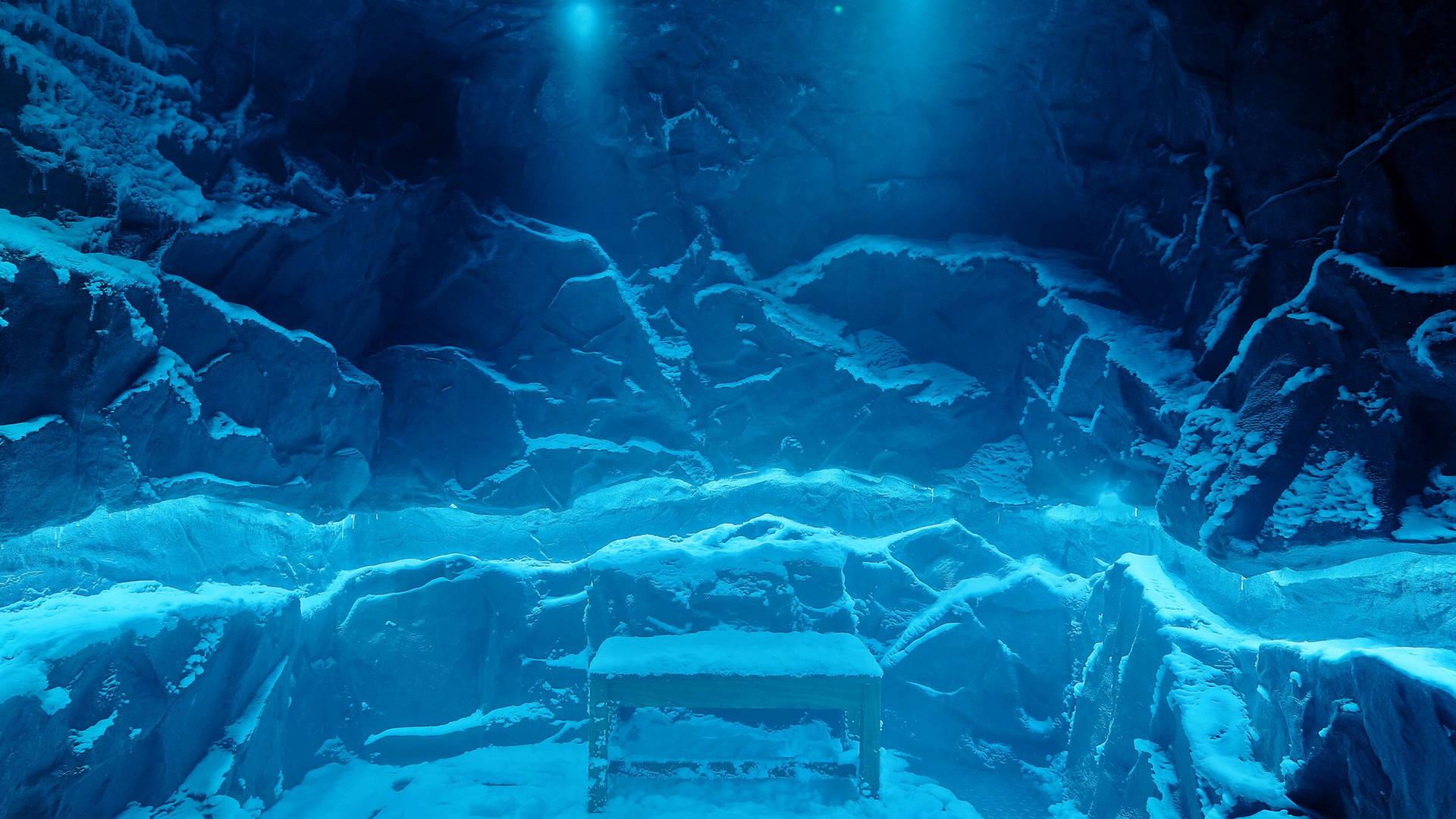 Snow treatment room at Jumeirah Zabeel Saray hotel in Dubai