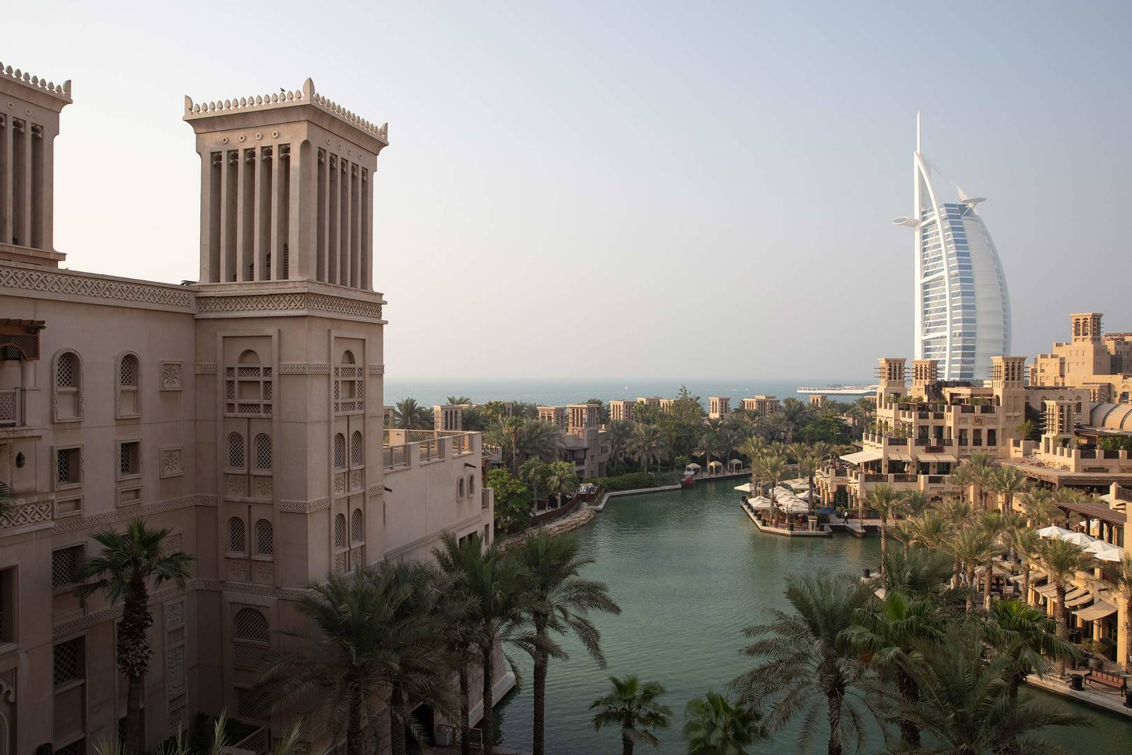 View of the Jumeirah Al Qasr hotel