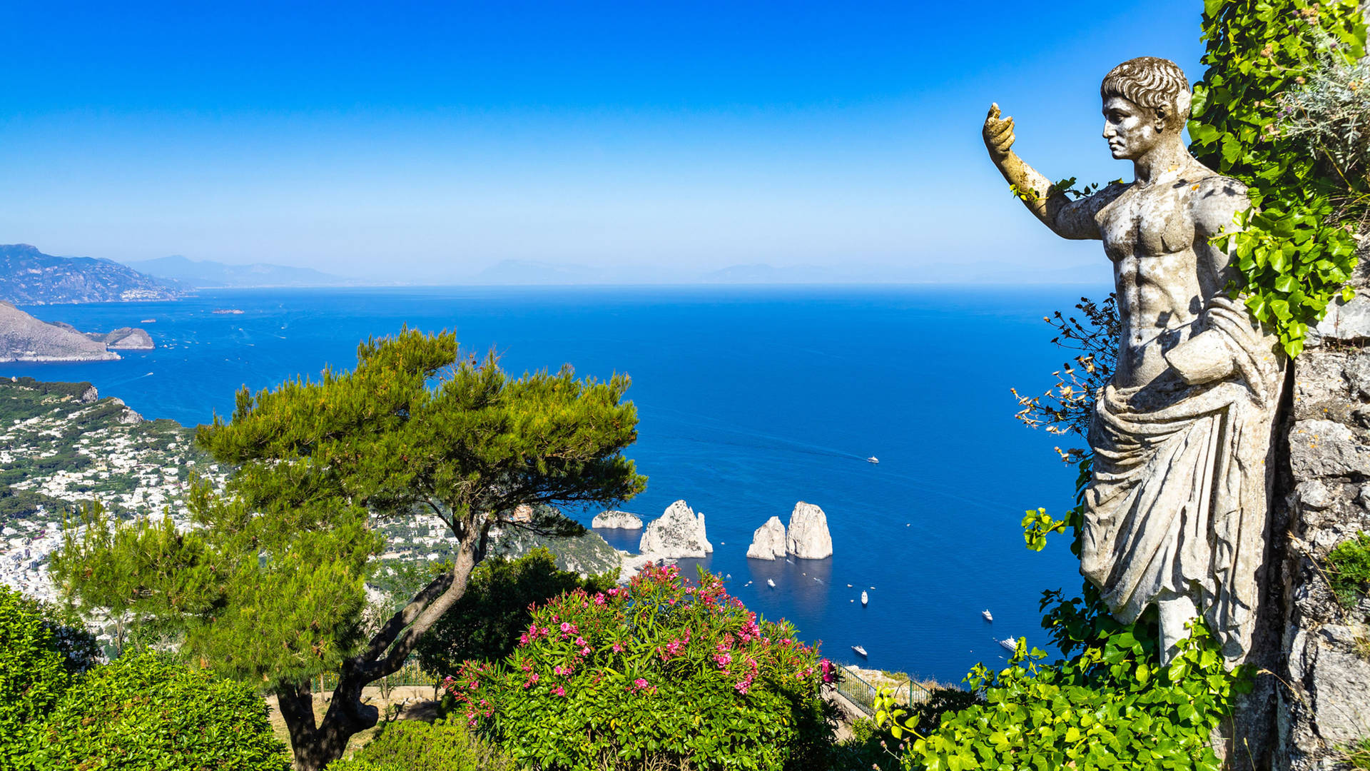 View of the sea from Anacapri