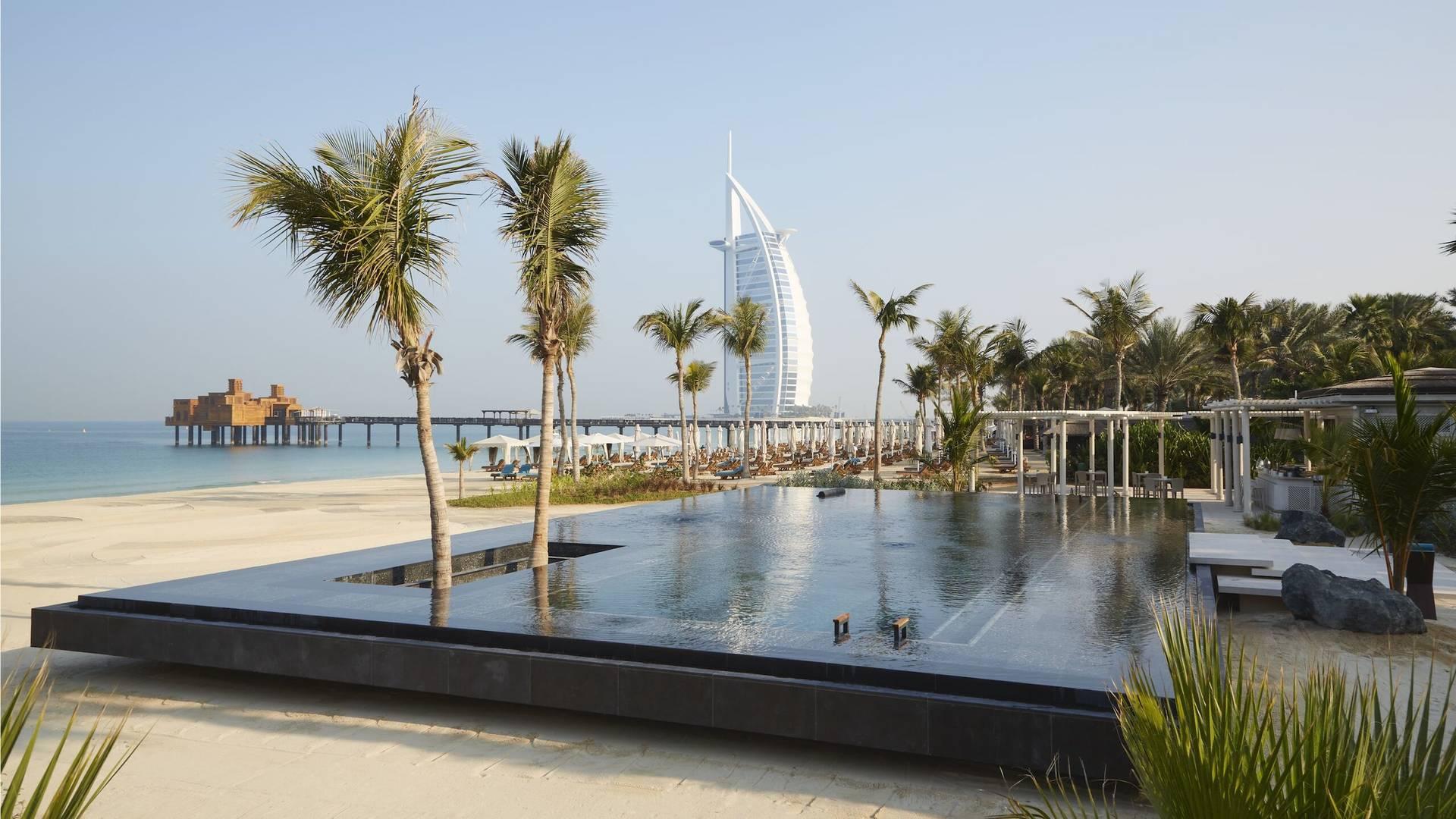 Jumeirah Dar Al Masyaf's Celeste infinity pool