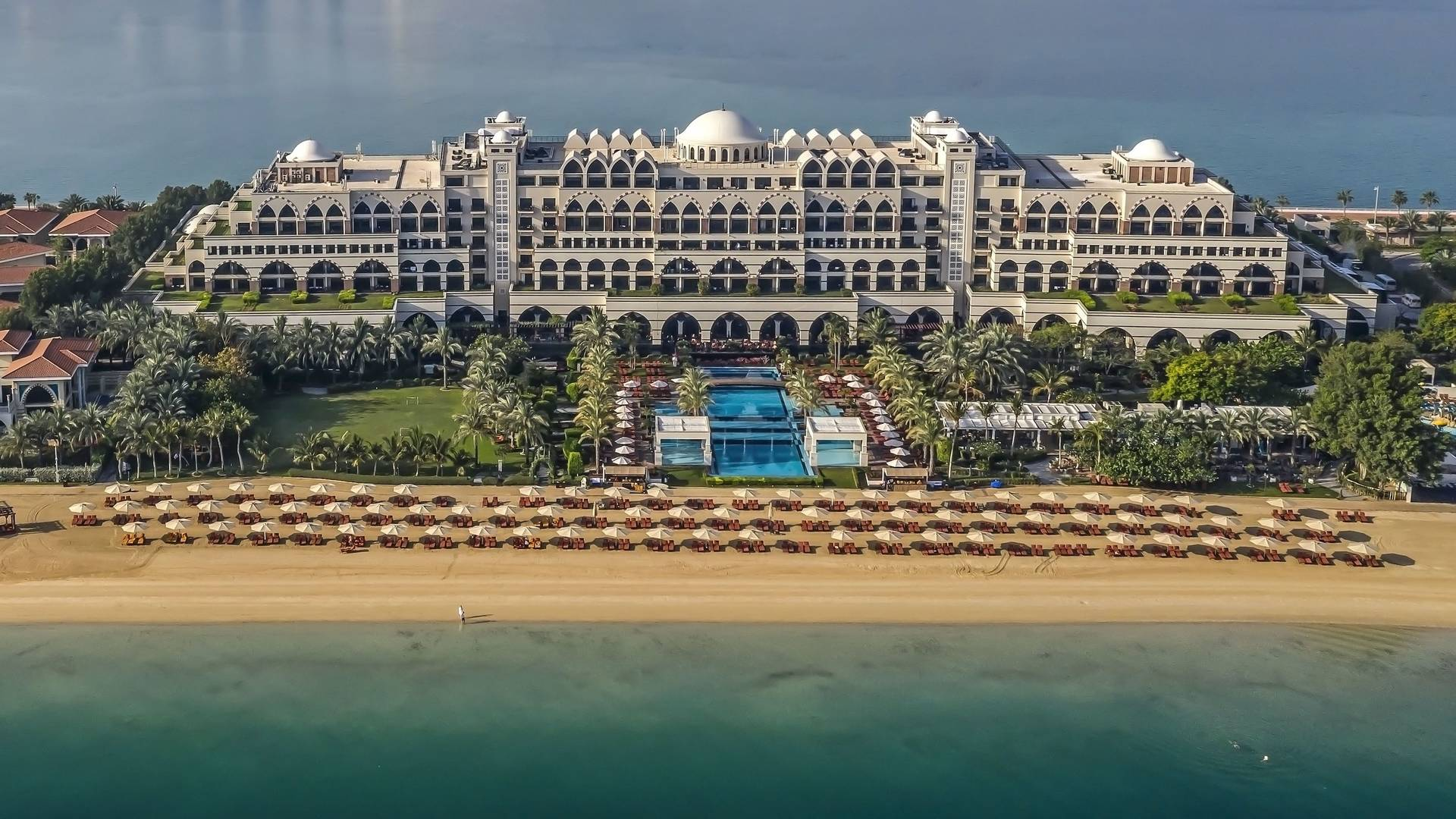 Exterior of Jumeirah Zabeel Saray