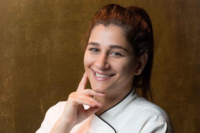 Burj-Al-Arab---Junior-Pastry-Chef-Sahar-Parham---Porträt