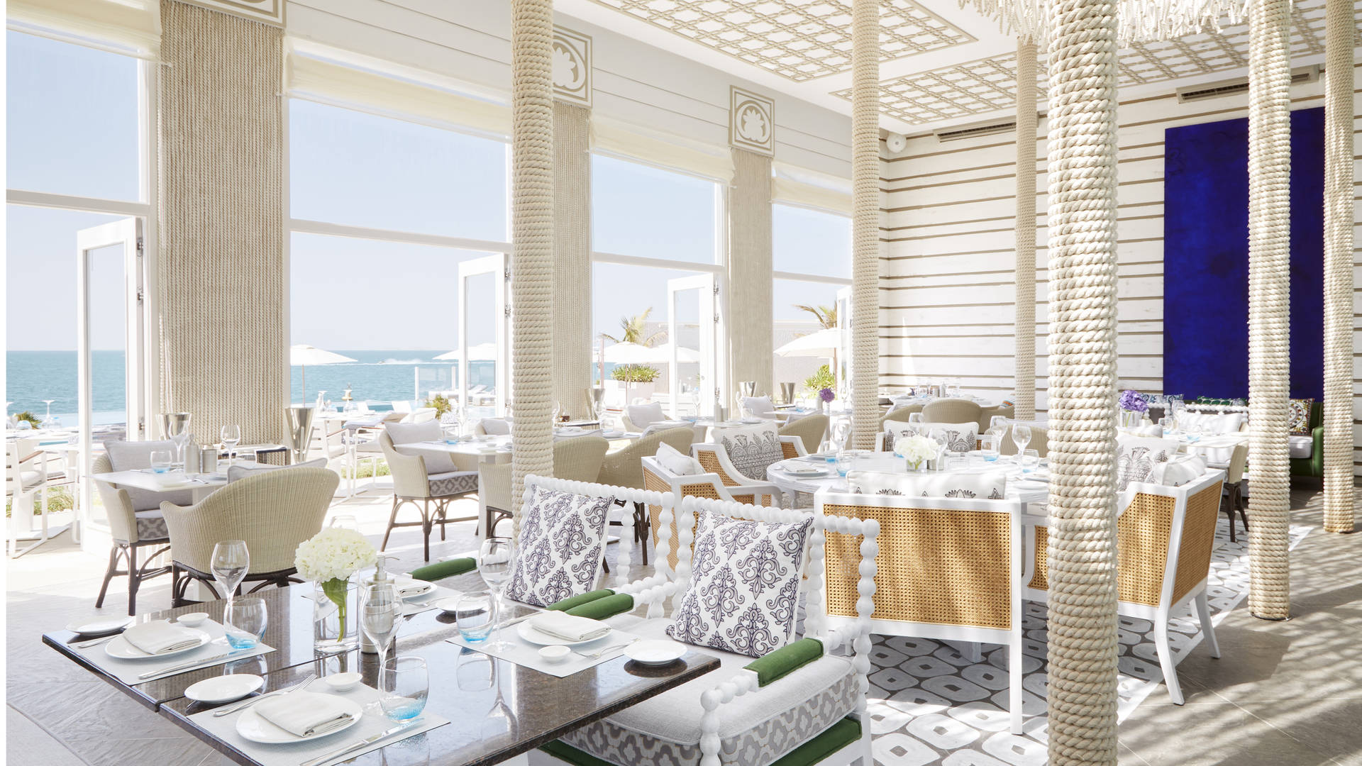 SAL restaurant interiors Dubai
