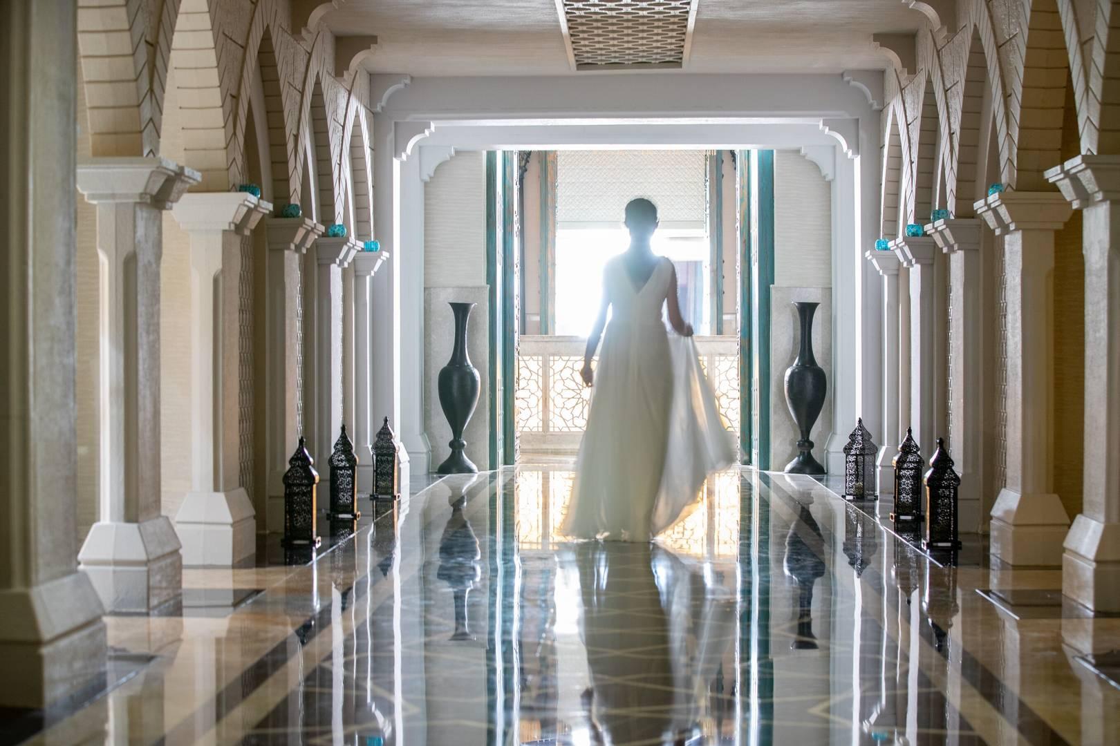 Entrance to Talise Ottoman Spa at Jumeirah Zabeel Saray