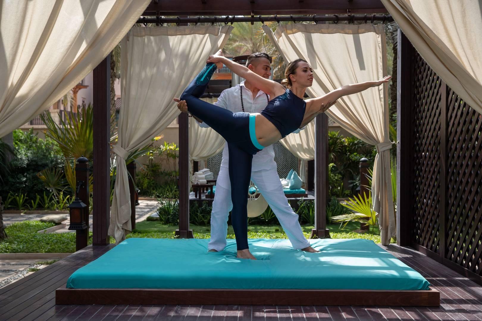 Yoga at Talise Spa at Madinat Jumeirah Dubai