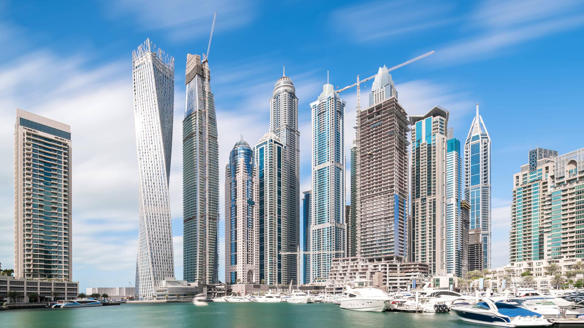 Dubai Marina Tallest block