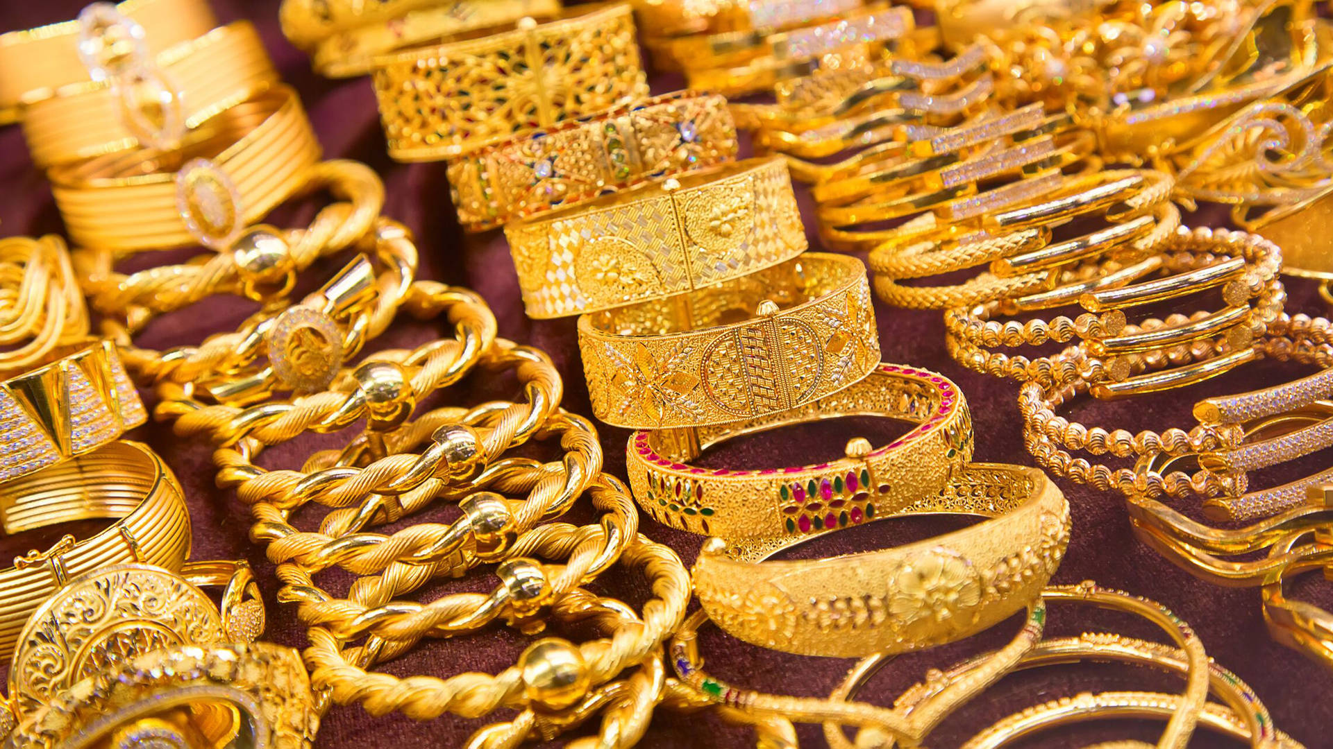 Dubai-Jewellery shopping