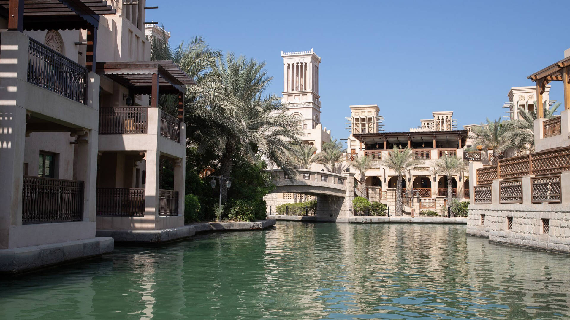 Jumeirah Dar Al Masyaf's waterways