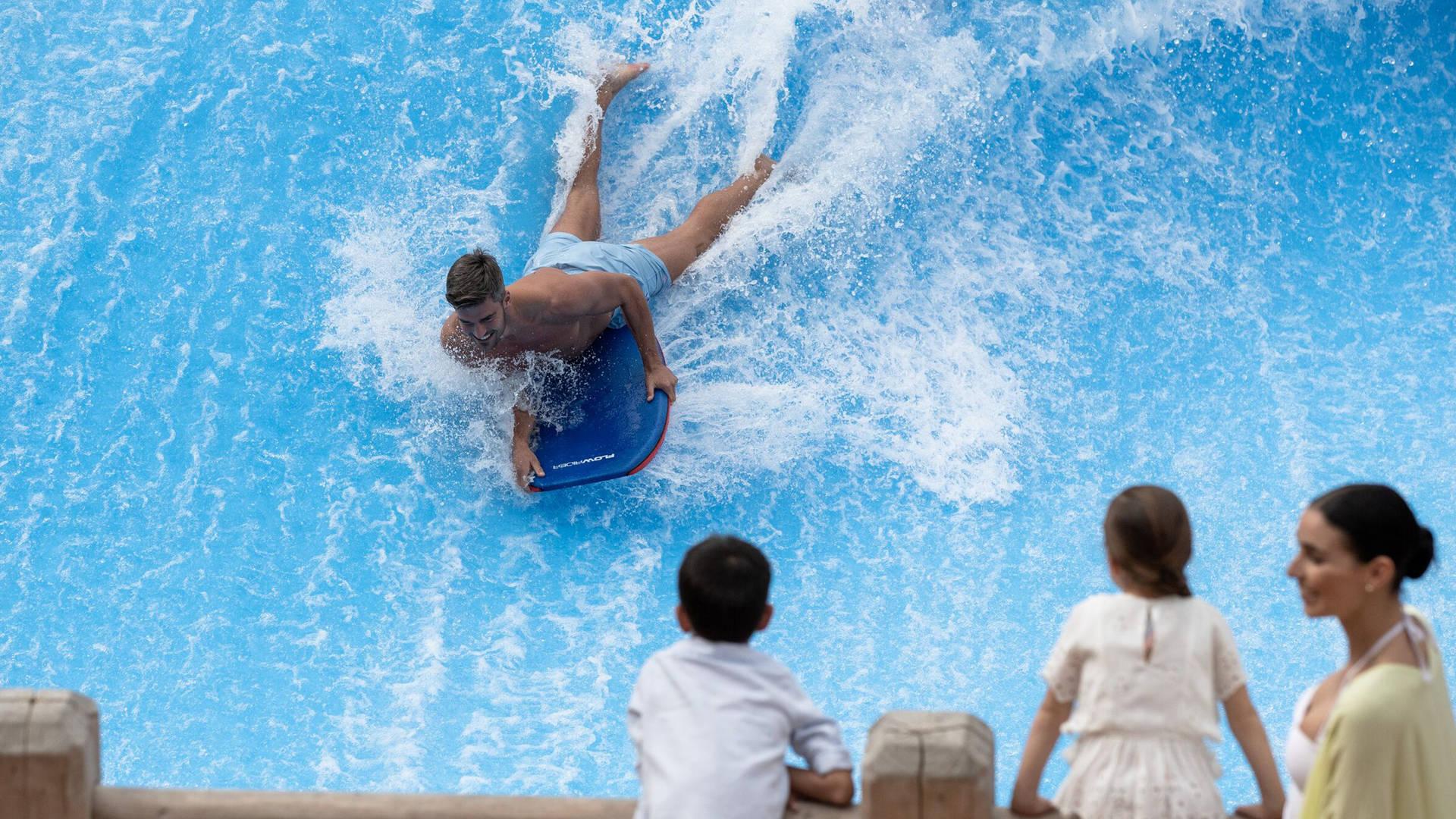 Wild Wadi Waterpark Surf Machine