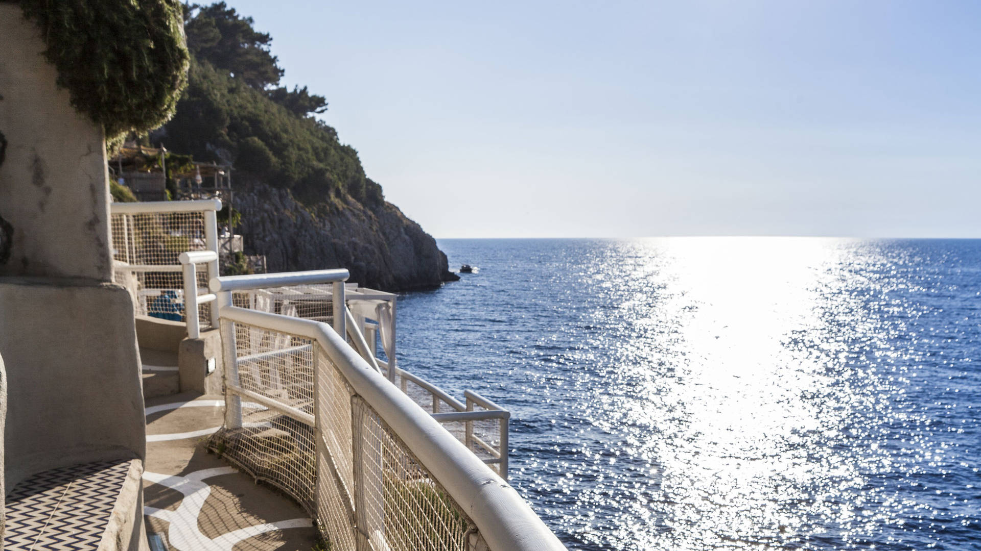 Il Riccio Balcony, Capri Palace
