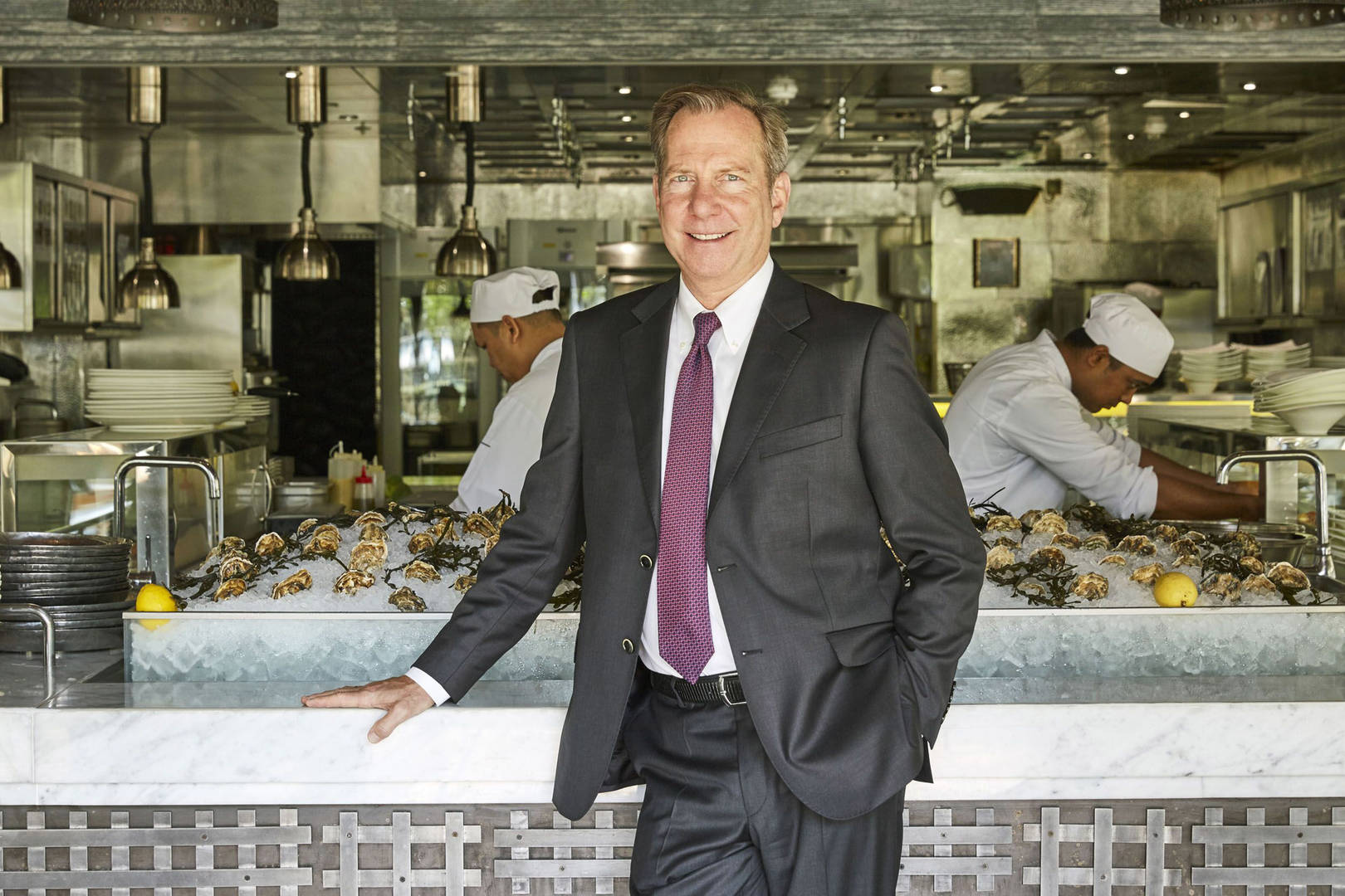 Officer Michael-Ellis Murrindie at Jumeirah Group Chief Culinary