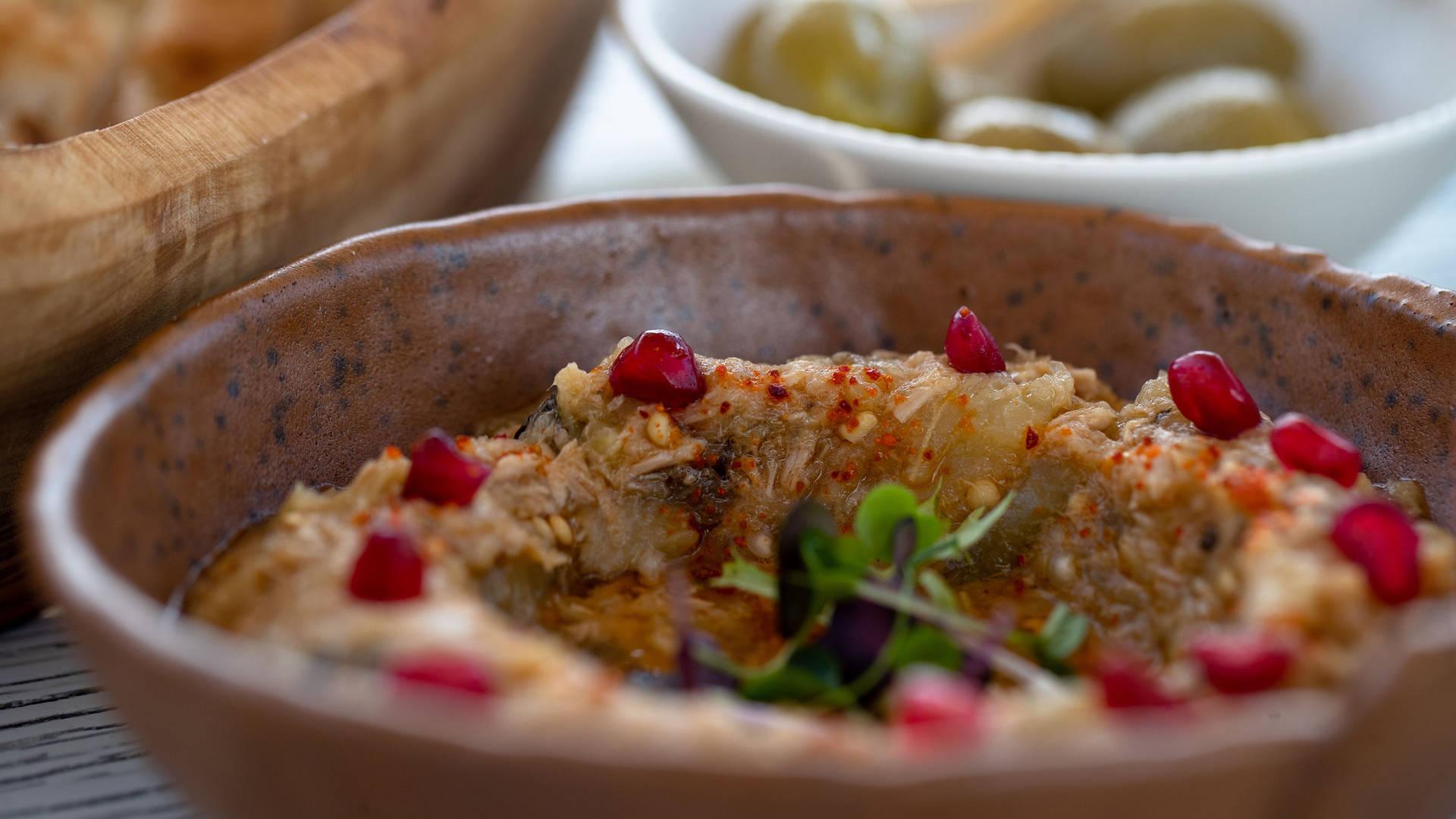 Mezze dishes in Kuwait