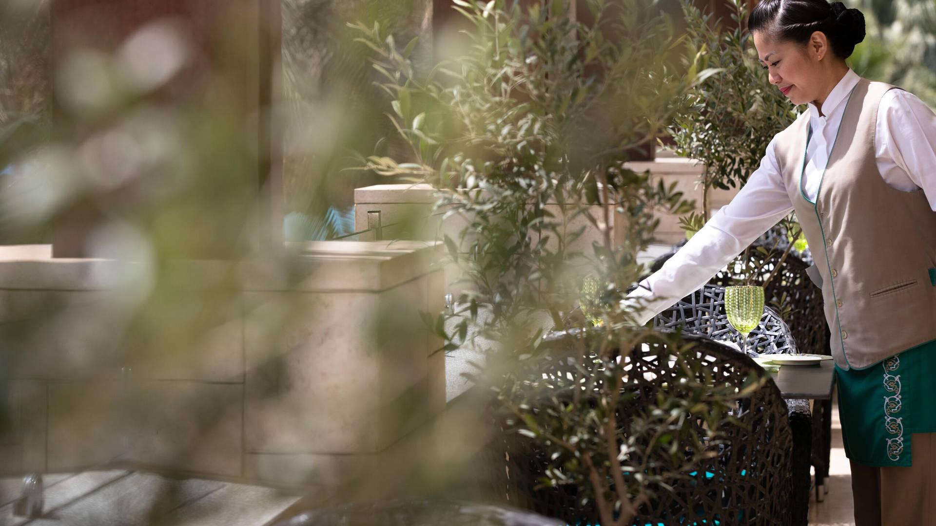 Jumeirah Messilah Beach Hotel gardens