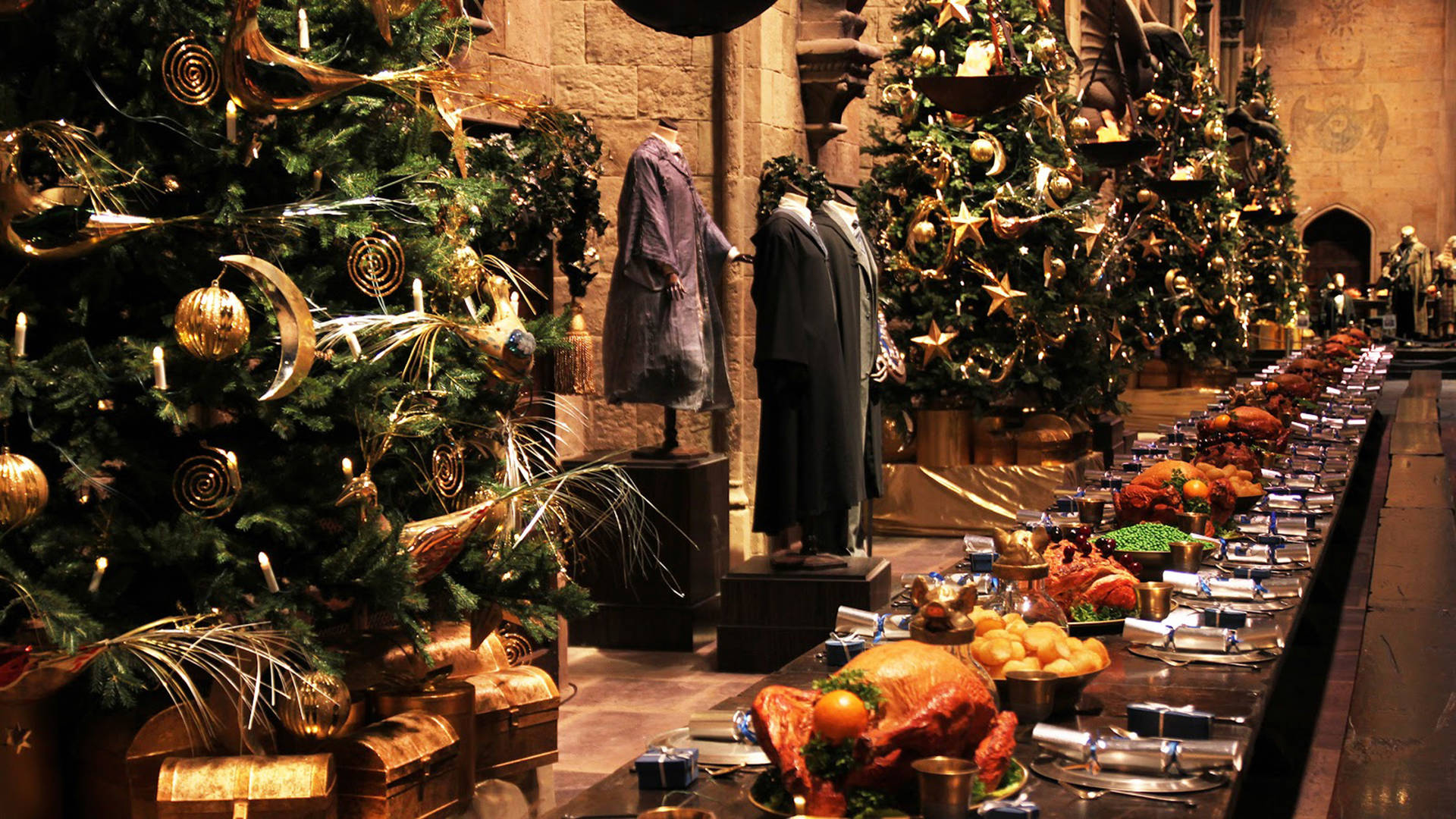 hogwarts castle family christmas london