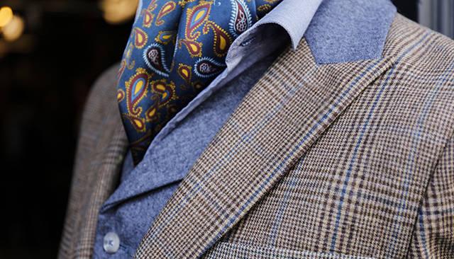 考究配饰 如何像英国绅士一样着装