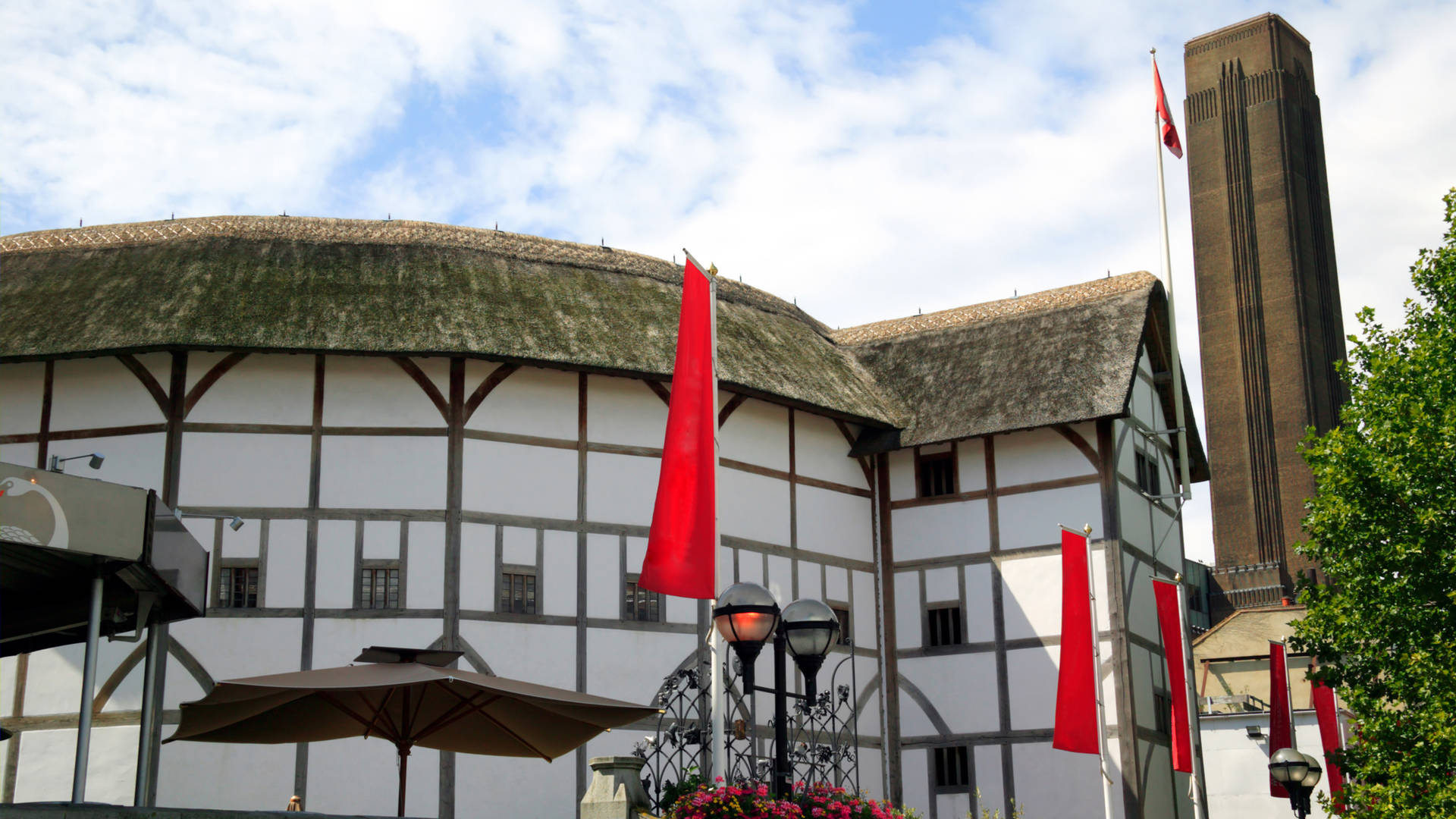 Shakespeare's Globe historic theatre London